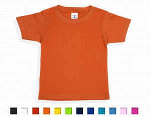 Playera peso completo cuello redondo unisex para bebe - DC Promos 4b393c44c144